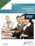 BSBADM502B Manage Meetings_LR