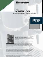KitchenAid Coffeemaker User Manual PROLINE SERIES KPES100