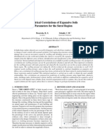 Empirical Correlations of Expansive Soils