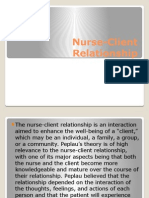 Nurse Client Relationship