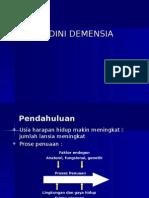 Deteksi Dini Demensia