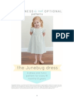 The Junebug Dress Pattern