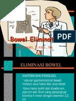 Eliminasi Bowel