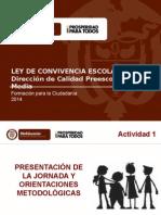 Presentación Talleres Ley Convivencia Escolar 2014