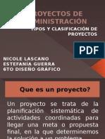 TIPOS Y CLASIFICACIÓN DE PROYECTOS.ppsx