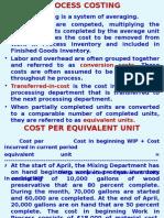 Chap. 3 Process Costing