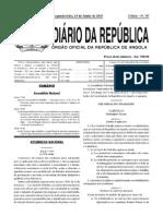 Nova Lei Geral Dotrabalho Angola
