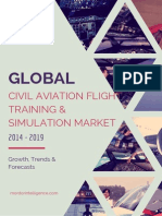 Global Civil Aviation Flight Training and Simulation Market Growth Trends and Forecasts 2014 – 2019