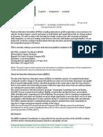 Academic Reform Analysis