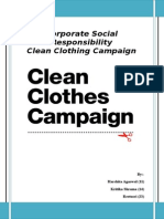 Clean Clothing Campaign End Term Submission