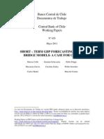 2011 626 - Short-Term GDP Forecasting Using Bridge Models, A Case of Chile - Cobb, Et Al