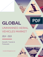 Global Unmanned Aerial Vehicles Market Growth Trends and Forecasts 2014 – 2019