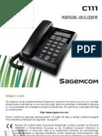 Manual Sagemcom C111