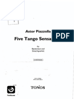 Piazzolla FiveTangoSensations