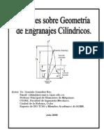 Geometria Basica Engranajes Cilindricos