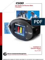 Nexus 1500 Transient Recording Power Quality Revenue Meter User Manual v.1.12_E154701