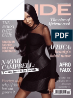 Naomi Campbell. Pride Magazine. October 2013