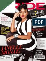 Janelle Monáe. Pride Magazine. September 2013