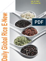 22nd July (Wednesday),2015 Daily Global Rice E-Newsletter by Riceplus Magazine