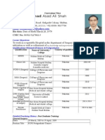 SAMPLE CV Workplace Doctors Web
