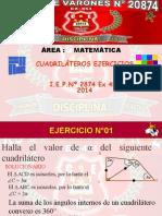 CUADRILATEROS EJERCICIOS 2014