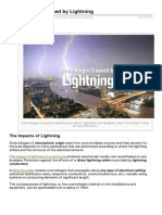 Electrical Engineering Portal.com Overvoltages Caused by Lightning
