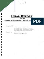 Judicial Commision Report