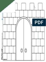 Castle Printable From Foldigo