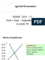 Lecture 5 - Market Equlibrium and Concept of Elasticity of Demand and its Application.pptx