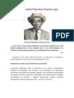 Biografia Definitiva de Francisco Aniceto Lugo
