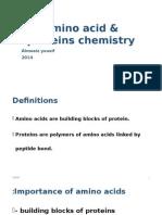 Amino Acid & Proteins Chemistry- Tutorial