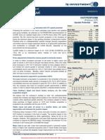 Is Investment - Company Reports - Ülker Bi̇sküvi̇ Sanayi̇ a.ş. (Ulker)