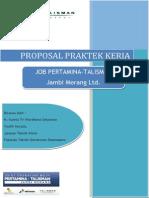 Proposal KP JOB Pertamina-Talisman Jambi Merang