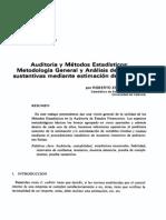 Auditoria y Estadistica