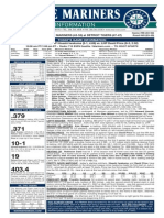 07.23.15 Game Notes