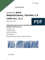 CMMI Para Adquisición Versión 1.2 - Rocio Balbin Lazo