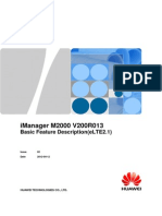 IManager M2000 V200R013 Basic Feature Description(ELTE2.1)