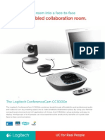 Logitech ConferenceCam CC3000e Data Sheet_WEB-PGS
