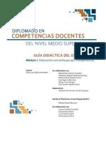 Guía Didáctica-Mod. I  para la UAEM V2