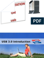 Presentation on Usb 3.0