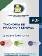 Taxonomía de Marzano y Kendall