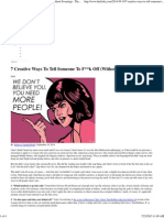 F___ Off (Without Swearing) - Scribd