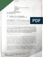 Solicitud de la defensa del Coronel (r) Ejercito Nacional Luis Alfonso Plazas Vega