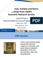 Trends in Food, Markets and Farms