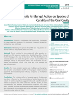 Red Propolis Antifungal Action on Species of Candida of the Oral Cavity