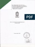 Manual de Practicas Profesionales de Pregrado Vigente