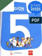 Libro Religion 5 Se Llama Jesus