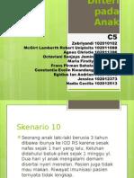 C5 Skenario 10 ppt difteri pada anak