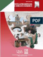 Revista Latinoamericana de Derechos Humanos 25-1, 2014
