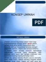 Konsep Ummah